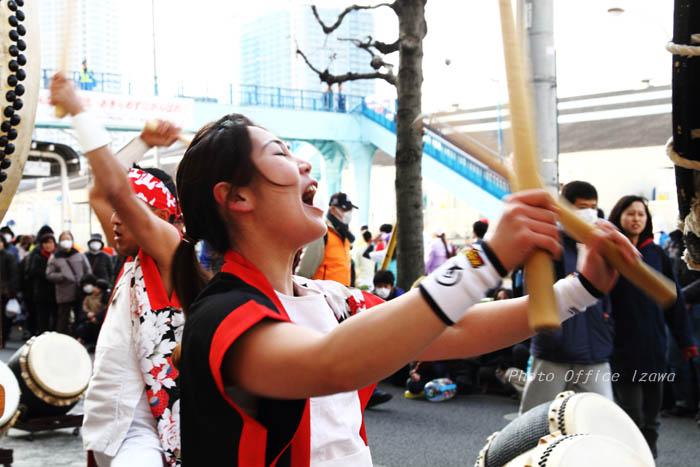東京マラソン2016・・・和太鼓応援演奏_c0181958_11434245.jpg
