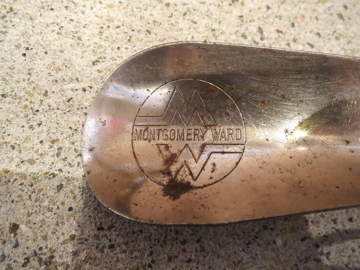 Vintage Advertising Shoe Horn_e0187362_14113336.jpg