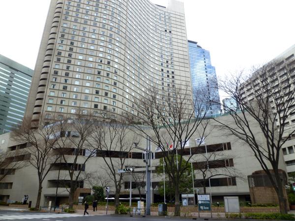 ヒルトン東京 マーブルラウンジ_c0152767_22261683.jpg