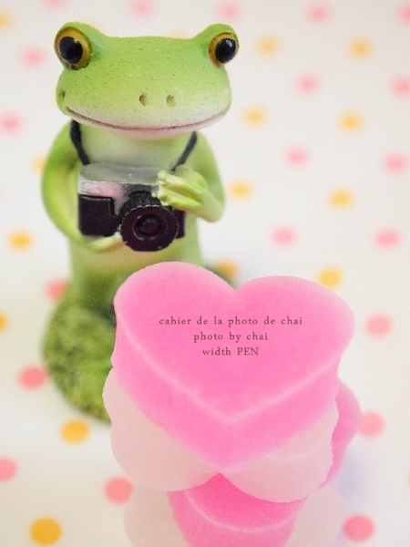 HEART TO HEART #カエル師匠_b0320893_23283474.jpg
