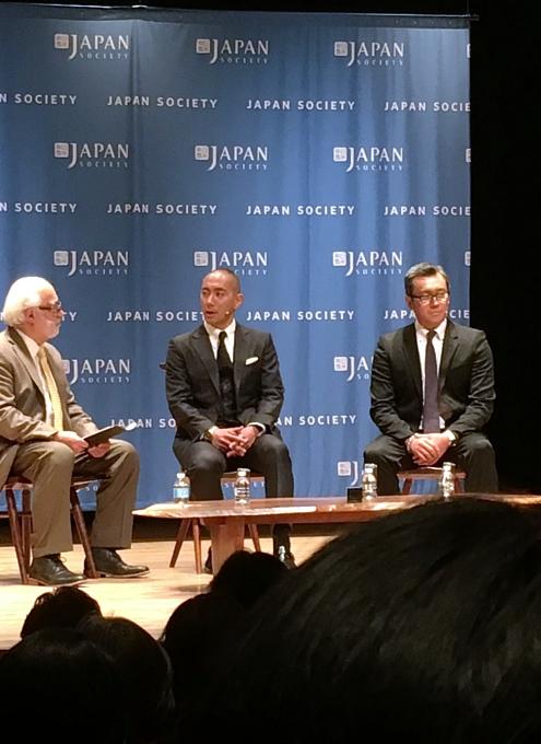 さすがプリンス、市川海老蔵さんがニューヨーク初公演前にご講演_b0007805_13281162.jpg