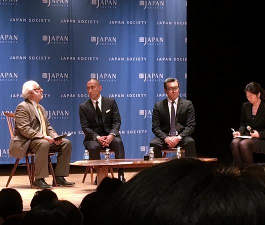 さすがプリンス、市川海老蔵さんがニューヨーク初公演前にご講演_b0007805_1329757.jpg