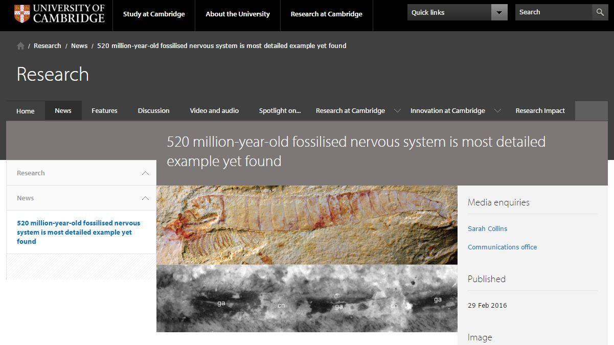 寒さの戻りとカンブリア紀の化石の解析_c0025115_19215025.jpg