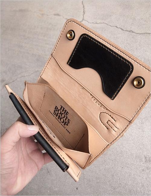 "Standard long wallet for \""THE BOOTS SHOP\"" _e0166142_22313958.jpg"