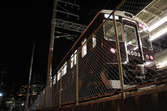 阪急箕面線 1日の終わり・・_d0202264_21103950.jpg