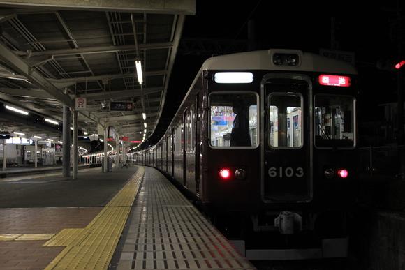 阪急箕面線 1日の終わり・・_d0202264_21111591.jpg