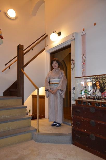 お気に入りのお着物を着て、食事会へ_d0230676_15374065.jpg