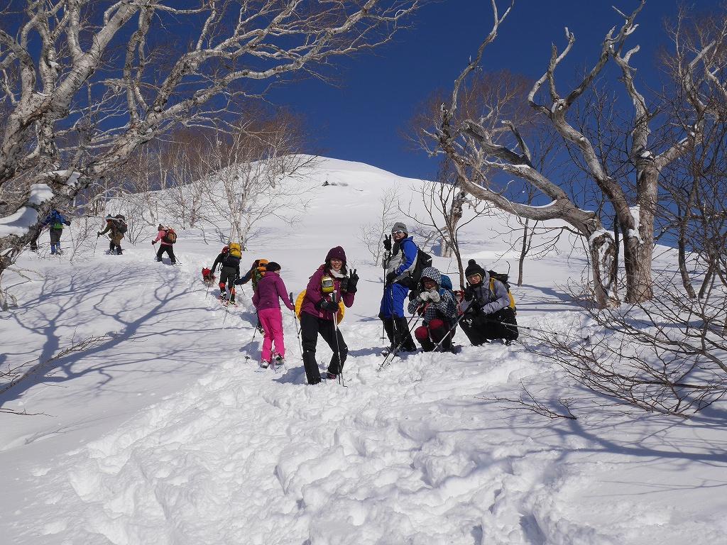 オコタンペ山、漁岳、小漁山からオコタンペ湖、2月28日-オコタンペ山から漁岳編-_f0138096_1132075.jpg