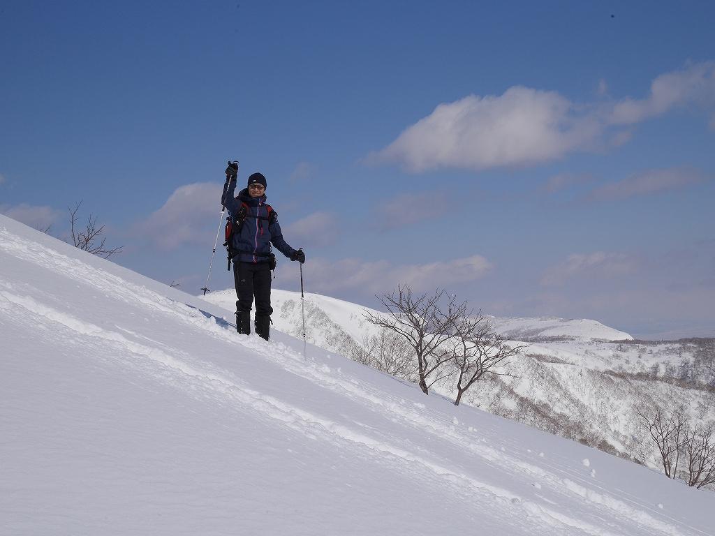 オコタンペ山、漁岳、小漁山からオコタンペ湖、2月28日-オコタンペ山から漁岳編-_f0138096_1132245.jpg