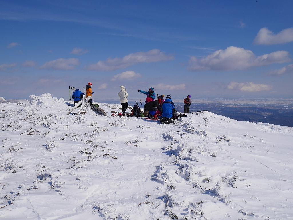 オコタンペ山、漁岳、小漁山からオコタンペ湖、2月28日-オコタンペ山から漁岳編-_f0138096_11324844.jpg