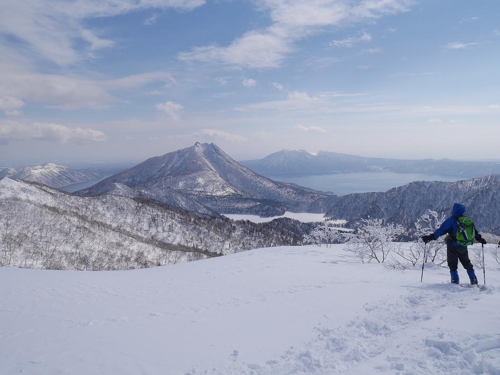 オコタンペ山、漁岳、小漁山からオコタンペ湖、2月28日-下山編-_f0138096_2253026.jpg