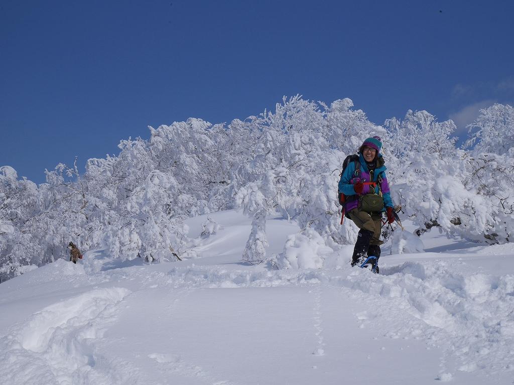 オコタンペ山、漁岳、小漁山からオコタンペ湖、2月28日-下山編-_f0138096_22534025.jpg
