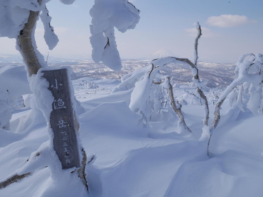 オコタンペ山、漁岳、小漁山からオコタンペ湖、2月28日-下山編-_f0138096_225407.jpg