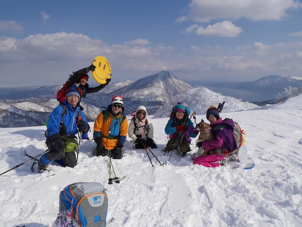 オコタンペ山、漁岳、小漁山からオコタンペ湖、2月28日-下山編-_f0138096_22541072.jpg