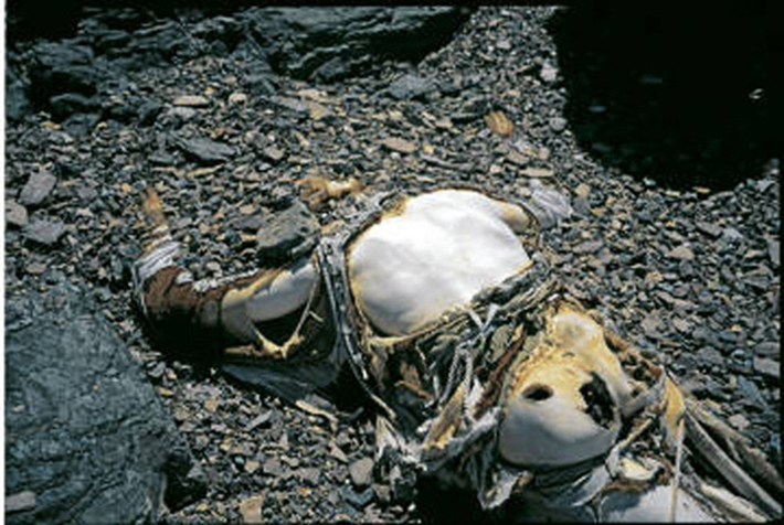 残される遺体たち…道しるべのためにエベレストに放置される200体以上の遺体_b0163004_06162049.jpg
