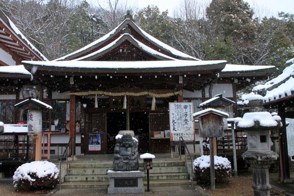 春の淡雪2 三明院~松ヶ崎大黒天へ_e0048413_1559063.jpg