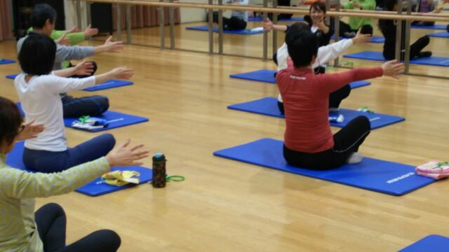 pilates 1day event at 道新文化センター_d0010742_2255241.jpg