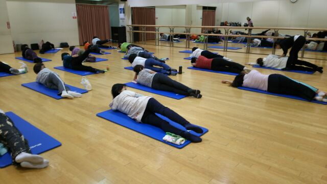 pilates 1day event at 道新文化センター_d0010742_2261555.jpg