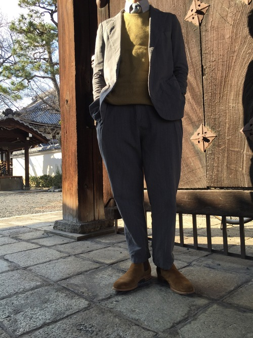 ONE DAY STYLE    セットアップ・・・_a0160153_20524652.jpg