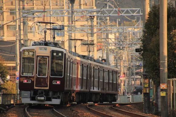 阪急箕面線 1日の始まり・・_d0202264_7291884.jpg
