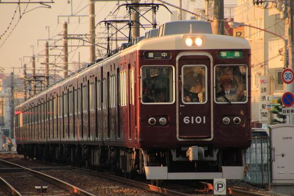 阪急箕面線 1日の始まり・・_d0202264_7295120.jpg