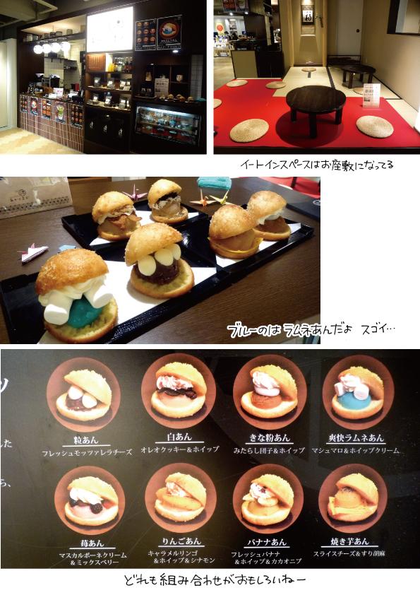 「cafe stand あかりまど」のあんドーナツ_d0272182_19271104.jpg