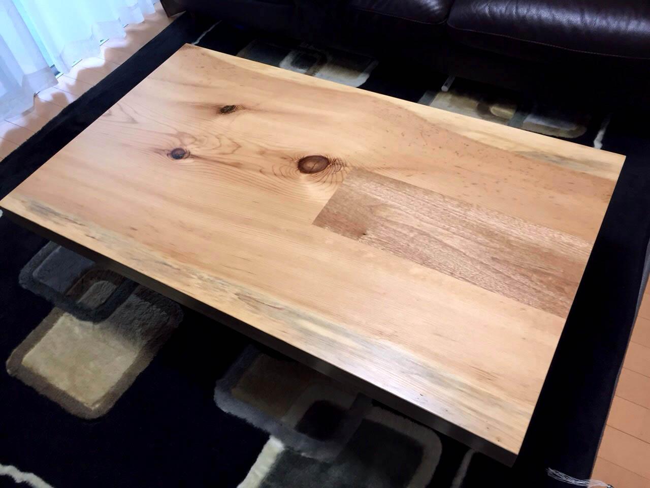 一枚板のテーブル_f0171785_17564350.jpg