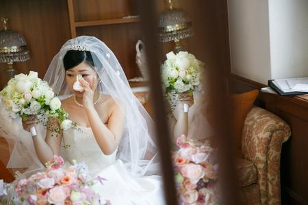 新郎新婦様からのメール ブーケと涙、その理由 山の上ホテル&神田教会の花嫁様より2_a0042928_2202522.jpg