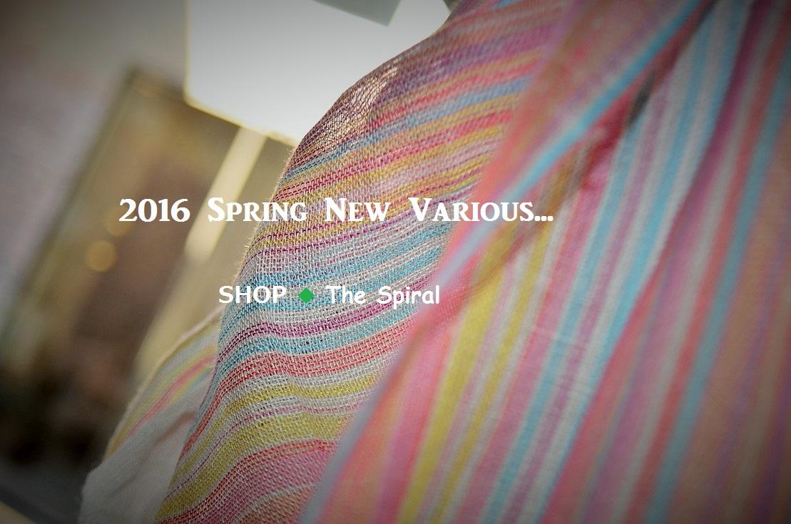 """""""春爛漫~2016 Spring New Various...  3/3thu\""""_d0153941_15202848.jpg"""