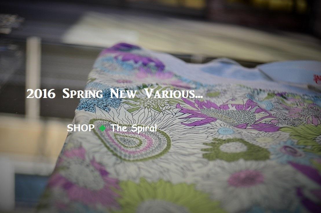 """""""春爛漫~2016 Spring New Various...  3/3thu\""""_d0153941_15214449.jpg"""