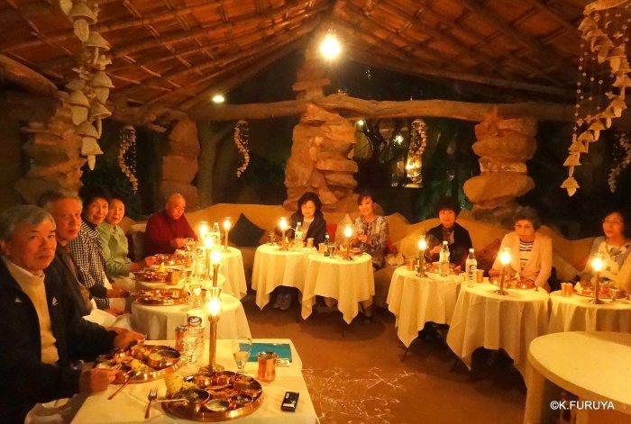 インド・ラジャスタンの旅 10 アジット バワン  お食事編_a0092659_14340624.jpg