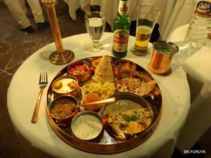 インド・ラジャスタンの旅 10 アジット バワン  お食事編_a0092659_14342276.jpg