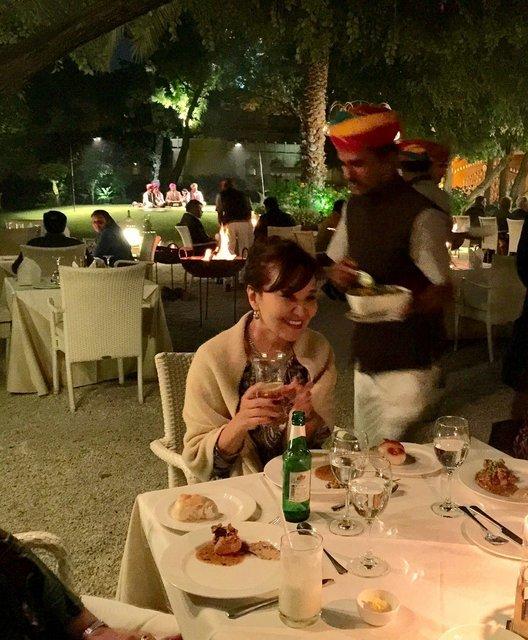 インド・ラジャスタンの旅 10 アジット バワン  お食事編_a0092659_14374778.jpg