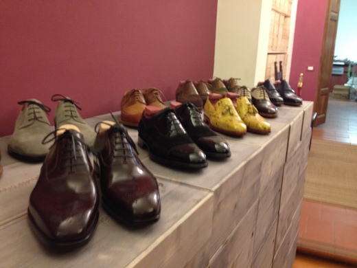 フィレンツェのオーダーメイド靴店の世界(前編)_a0136671_250219.jpg
