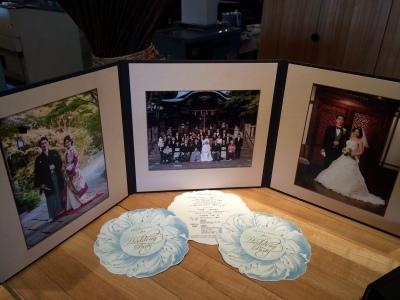 Happy Wedding!!~早春の装花・ケーキ・ドレス~_e0120789_00363020.jpg
