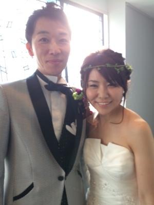 Happy Wedding!!~早春の装花・ケーキ・ドレス~_e0120789_00363397.jpg