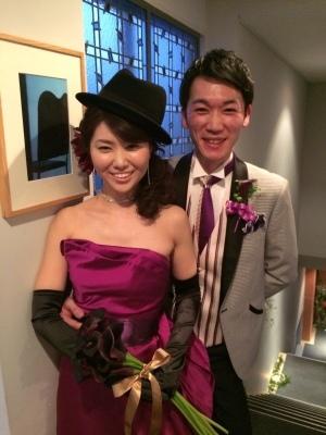 Happy Wedding!!~早春の装花・ケーキ・ドレス~_e0120789_00372466.jpg