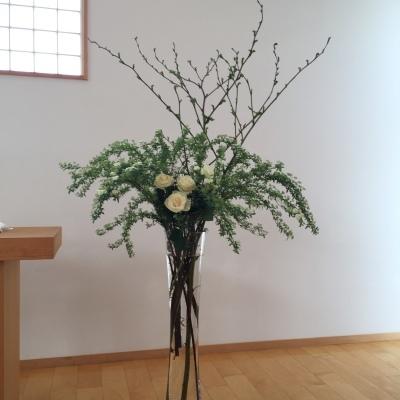 Happy Wedding!!~早春の装花・ケーキ・ドレス~_e0120789_01072369.jpg