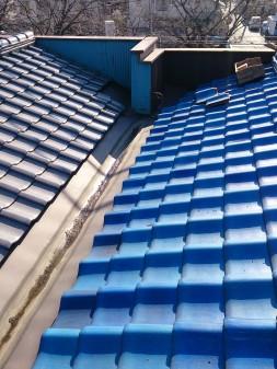 練馬区の早宮で、雪での雨漏り修理工事_c0223192_2140384.jpg