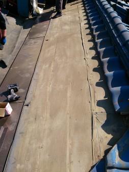 練馬区の早宮で、雪での雨漏り修理工事_c0223192_21424748.jpg