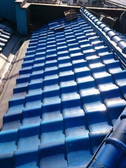 練馬区の早宮で、雪での雨漏り修理工事_c0223192_21431049.jpg