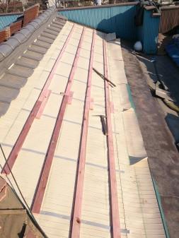 練馬区の早宮で、雪での雨漏り修理工事_c0223192_21445736.jpg