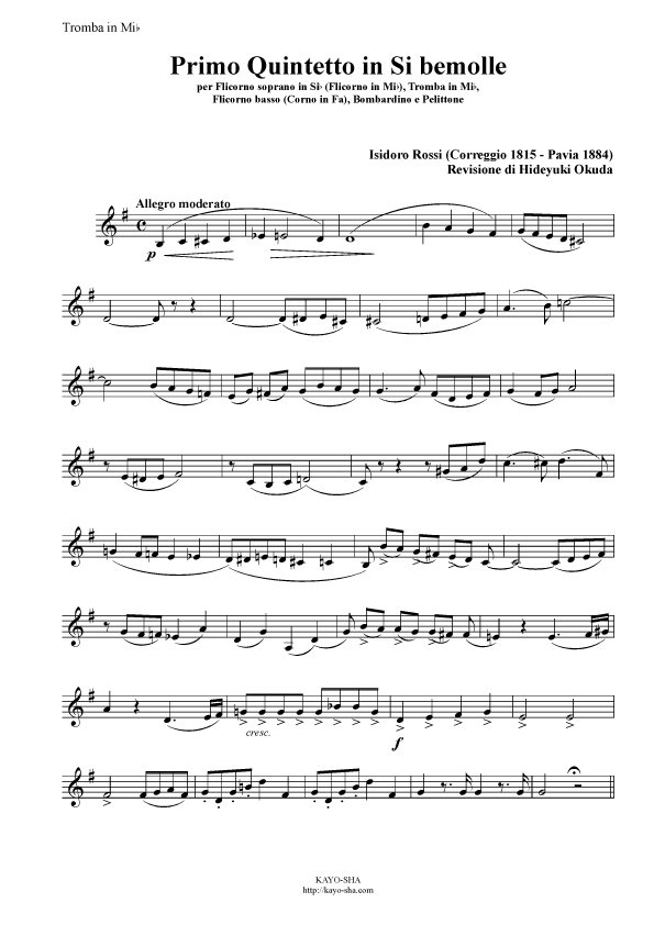 ロッシ:金管五重奏曲第1番 変ロ調_b0189423_1113843.jpg