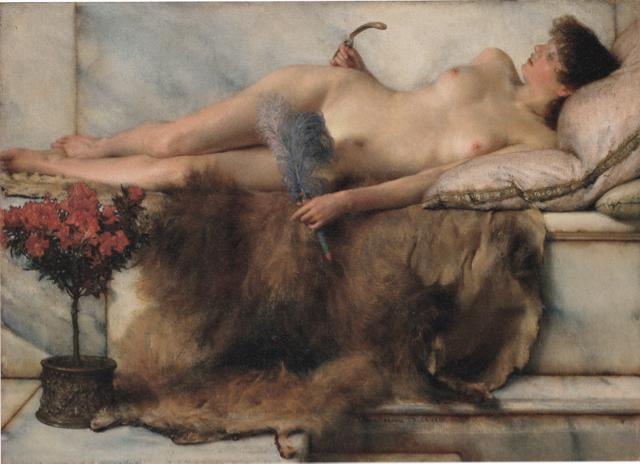 アルマ・タデマの裸婦の秀作 《テピダリウム》_e0356356_18100645.jpg