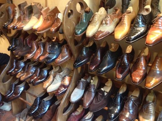 フィレンツェのオーダーメイド靴店の世界(中編)_a0136671_0343385.jpg