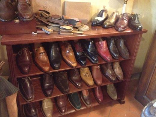 フィレンツェのオーダーメイド靴店の世界(中編)_a0136671_0515944.jpg