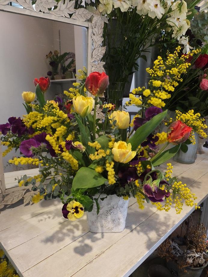 オークリーフ花の教室(石川さんの作品)_f0049672_17113164.jpg