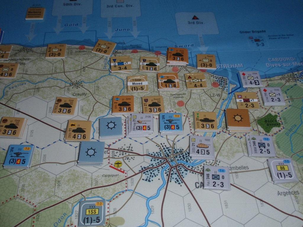 GMT「Normandy\'44」をソロプレイ④_b0162202_1711921.jpg