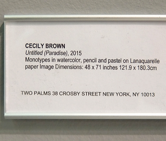 アーモリー・ショー2016:Two PalmsのCecily Brown最新作は必見_b0007805_0252955.jpg
