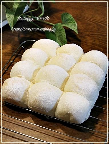 白パンちぎりサンドで朝ごパン♪_f0348032_18114486.jpg